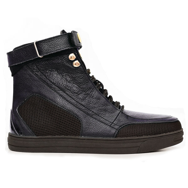 Negash ™ Navy Hotep 4.0 Boots (Youth) - Negash Apparel & Footwear - 1