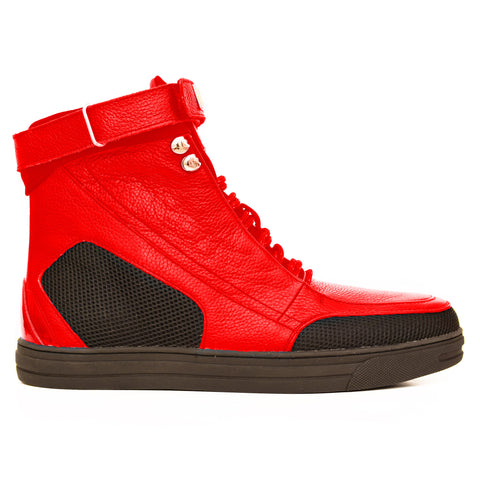 Negash ™ Red  Hotep 4.0 Boots - Negash Apparel & Footwear