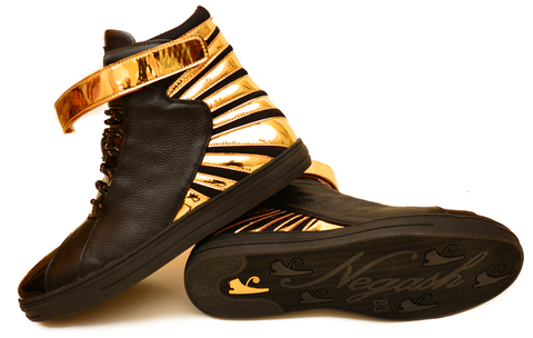 Amun Ra Black & Gold (Limited Edition) Negash Sneaker