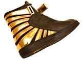 Amun Ra Black & Gold (Limited Edition) Negash Sneaker - Negash Apparel & Footwear - 3