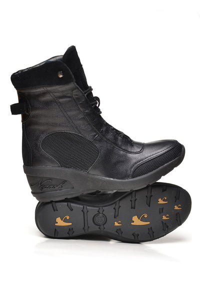 Negash (Limited Edition) Black Isis Boot - Negash Apparel & Footwear - 1