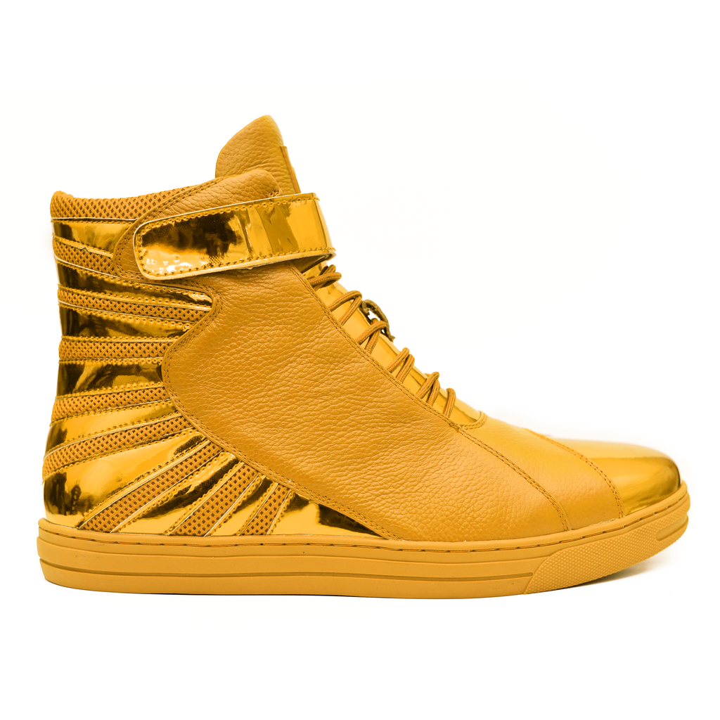 Negash Gold Label ™ Amun Ra  Wavey Gold Edition - Negash Apparel & Footwear - 1