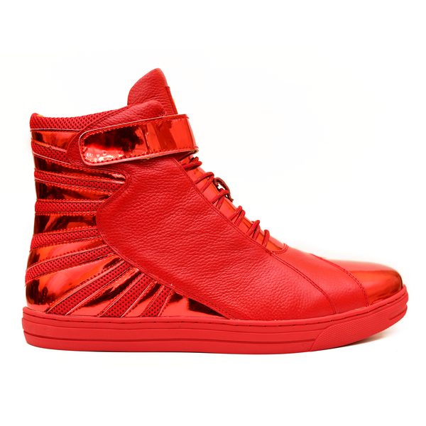 Negash ™ All Red Amun Ra Sneakers Royal Blood Edition (Youth) - Negash Apparel & Footwear - 1