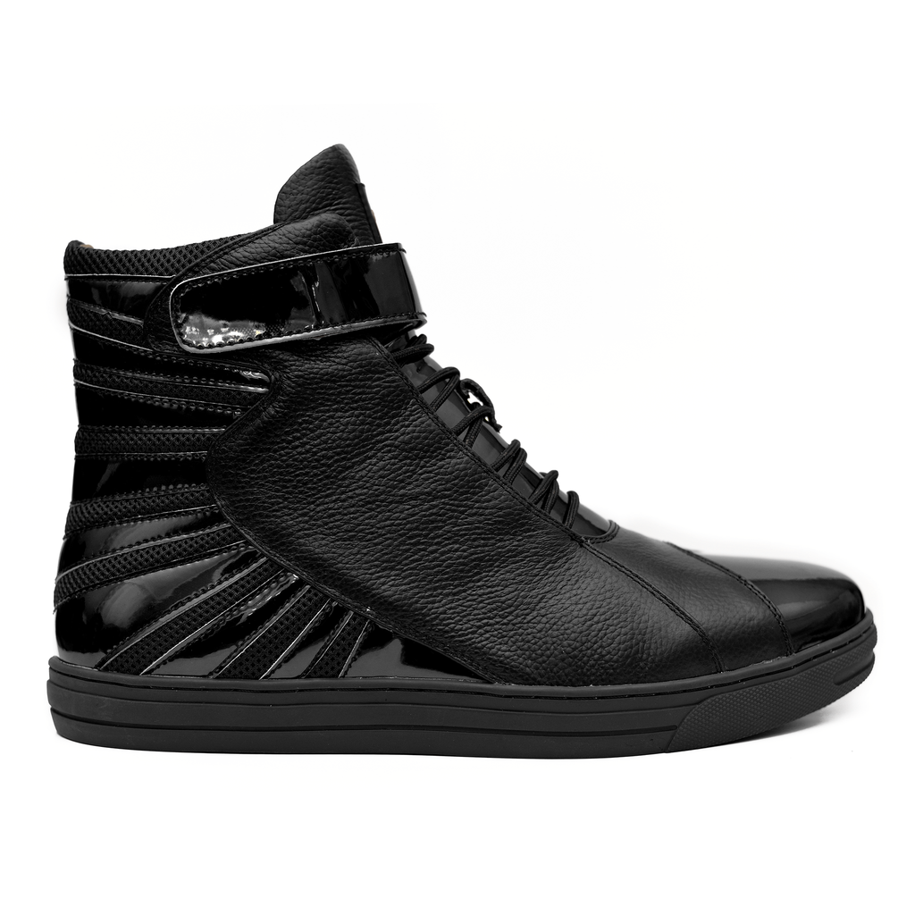 Negash ™ All Black Amun Ra Sneakers Melanin Edition - Negash Apparel & Footwear - 1