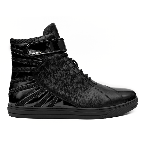 Negash ™ All Black Amun Ra Sneakers Melanin Edition
