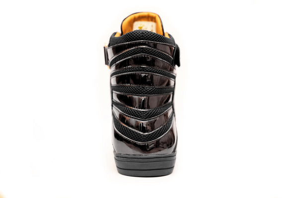 Negash ™ All Black Amun Ra Sneakers Melanin Edition (Youth) - Negash Apparel & Footwear - 3