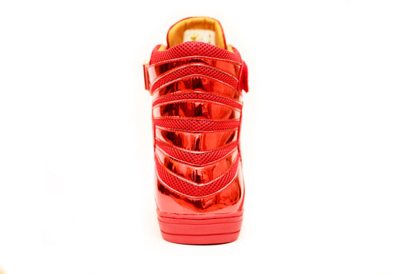 Negash ™ All Red Amun Ra Sneakers Royal Blood Edition - Negash Apparel & Footwear - 3