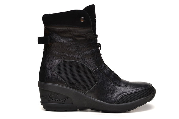 Negash (Limited Edition) Black Isis Boot - Negash Apparel & Footwear - 2