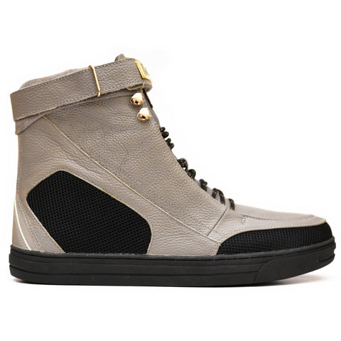 Negash ™ Grey Hotep 4.0 Boots (Youth) - Negash Apparel & Footwear - 1
