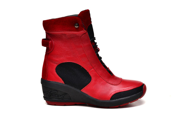 Negash (Limtied Edition) Red Isis Boot - Negash Apparel & Footwear - 2