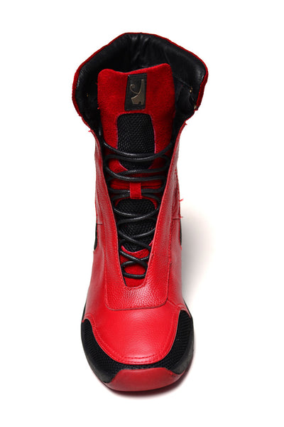 Negash (Limtied Edition) Red Isis Boot - Negash Apparel & Footwear - 5