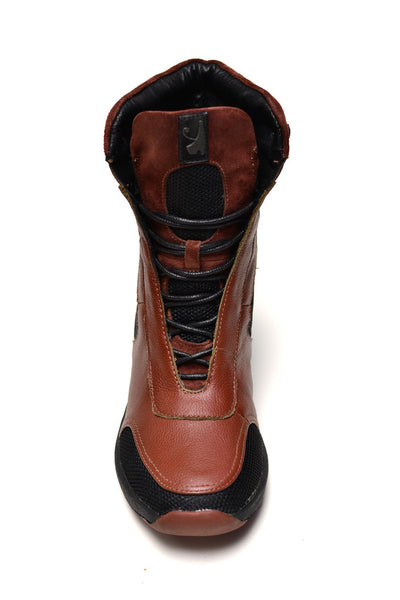 Negash Isis Boot Brown - Negash Apparel & Footwear - 4