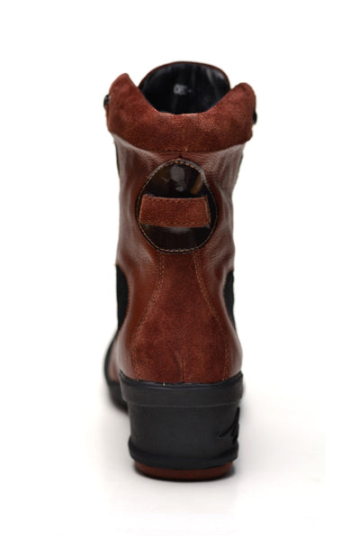 Negash Isis Boot Brown - Negash Apparel & Footwear - 5