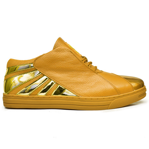 Negash ™ Wavey Gold Low-top Sneaker (Crypto Edition) Pre-Order