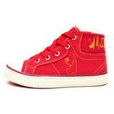 Negash ™ Kids Red Tut Sneakers - Negash Apparel & Footwear - 1