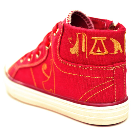 Negash ™ Kids Red Tut Sneakers