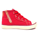 Negash ™ Kids Red Tut Sneakers - Negash Apparel & Footwear - 3