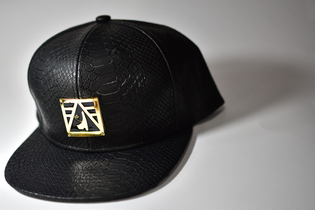 Negash ™ Leather Heru Snap-Back - Negash Apparel & Footwear - 1