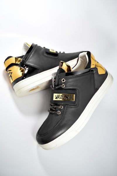 Negash ™ Black & Gold Wadjet Sneakers (Limited Edition) - Negash Apparel & Footwear - 6