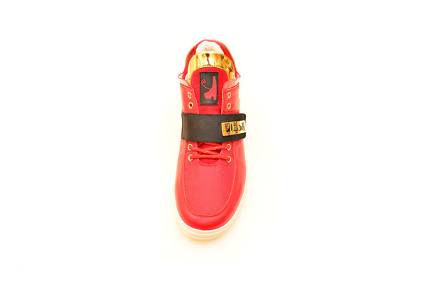 Negash ™ Red & Gold Wadjet Sneakers (Limited Edition) - Negash Apparel & Footwear - 5