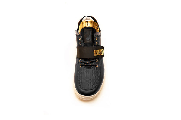 Negash ™ Black & Gold Wadjet Sneakers (Limited Edition) - Negash Apparel & Footwear - 5