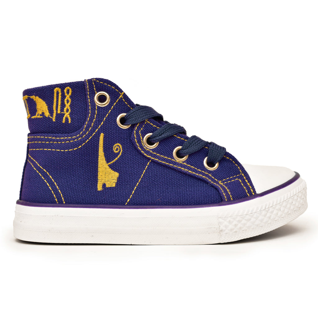 Negash ™ Kids Blue Tut Sneakers