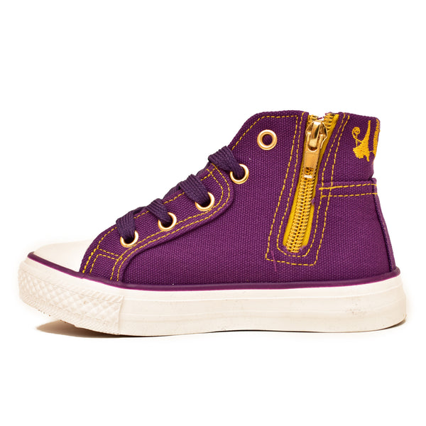 Negash ™ Purple Kids Tut Sneakers - Negash Apparel & Footwear - 2