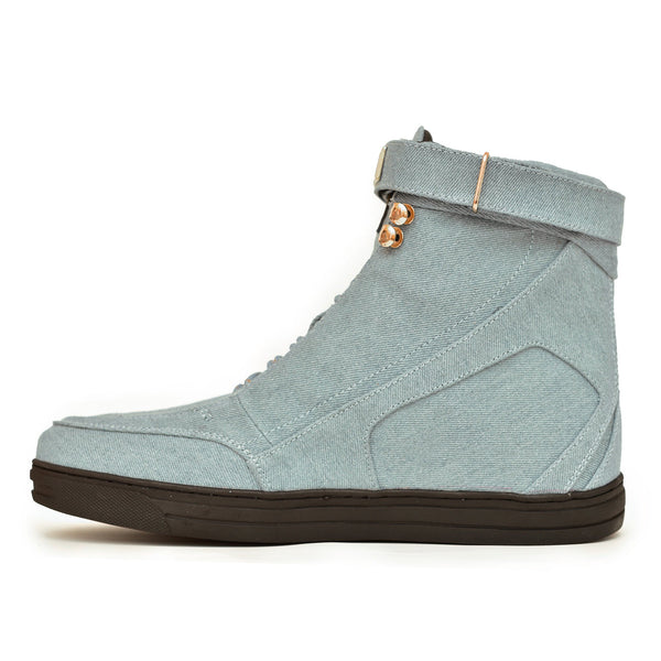 Blue Denim Hotep Boot 4.0 Limited Edition
