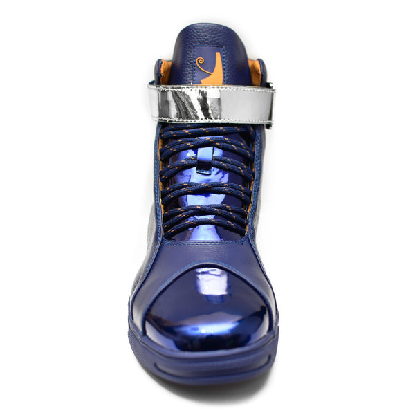 Negash ™ Amun Ra Sneakers Midnight Blue & Gunmetal