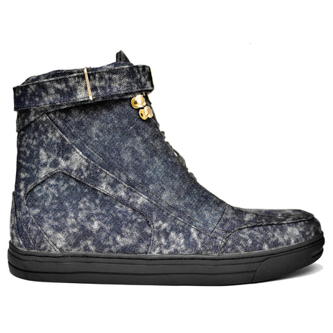 Dark Denim Hotep Boot 4.0 Limited Edition (Back Order)