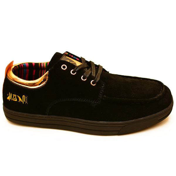 Negash ™ Black & Gold (Limited Edition) Ptah Sneaker - Negash Apparel & Footwear - 1