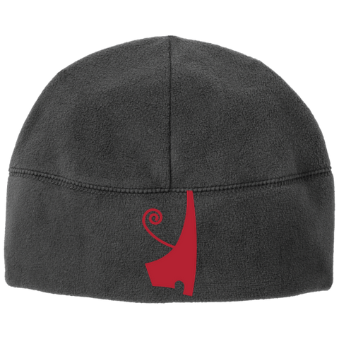 Red Deshret Fleece Beanie