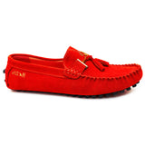 Negash™ Red Nekhbet Loafer - Negash Apparel & Footwear