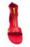 Red Negash Neith Sandal - Negash Apparel & Footwear - 2