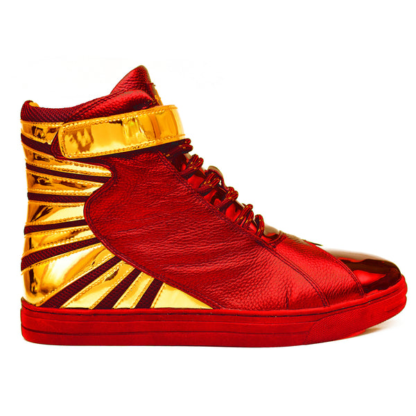 Negash ™ Amun Ra Sneakers Cherry & Gold (Limited Edition) Pre-Order