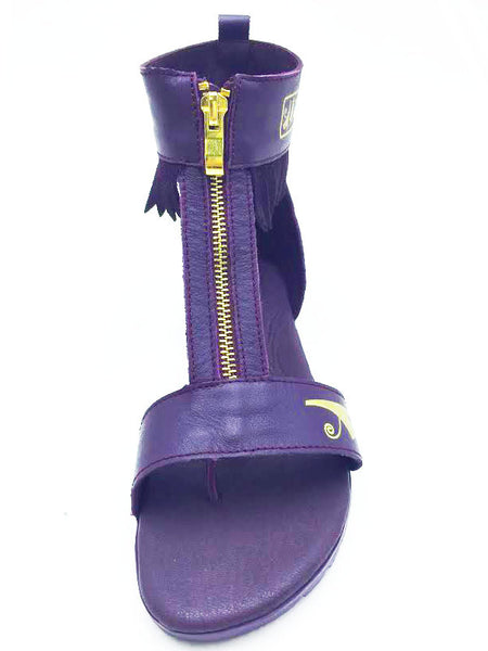 Negash ™ Purple Neith Sandal - Negash Apparel & Footwear - 2