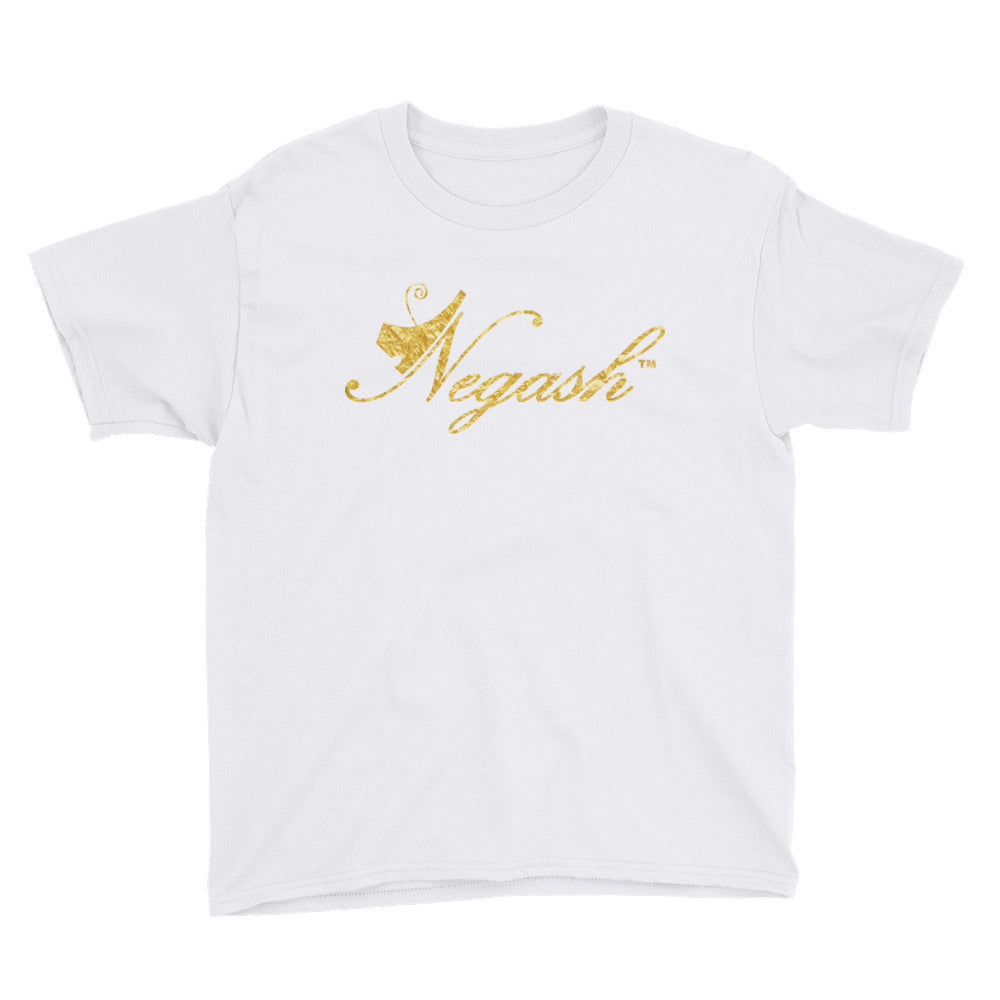 Negash Signature (gold) Short Sleeve T-Shirt