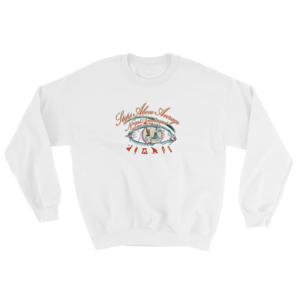 Steps Above Average Sweatshirt