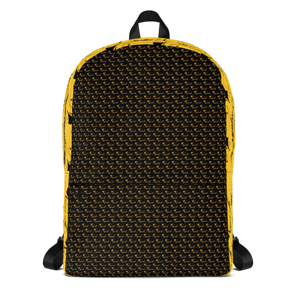 Negash All Over Signature Backpack