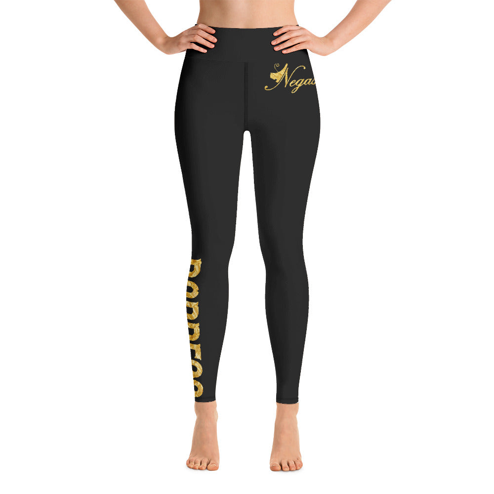 Negash Signature (Gold) Yoga Leggings