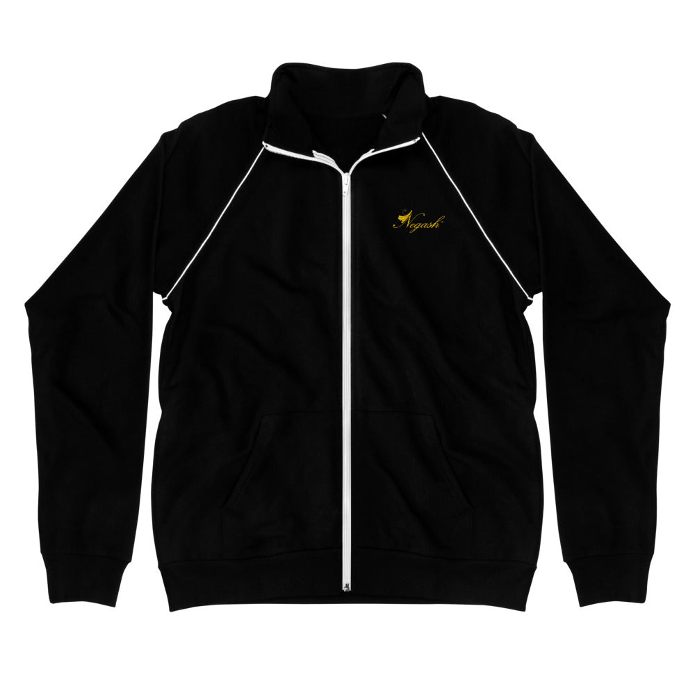 Negash Signature (Gold) Piped Fleece Jacket