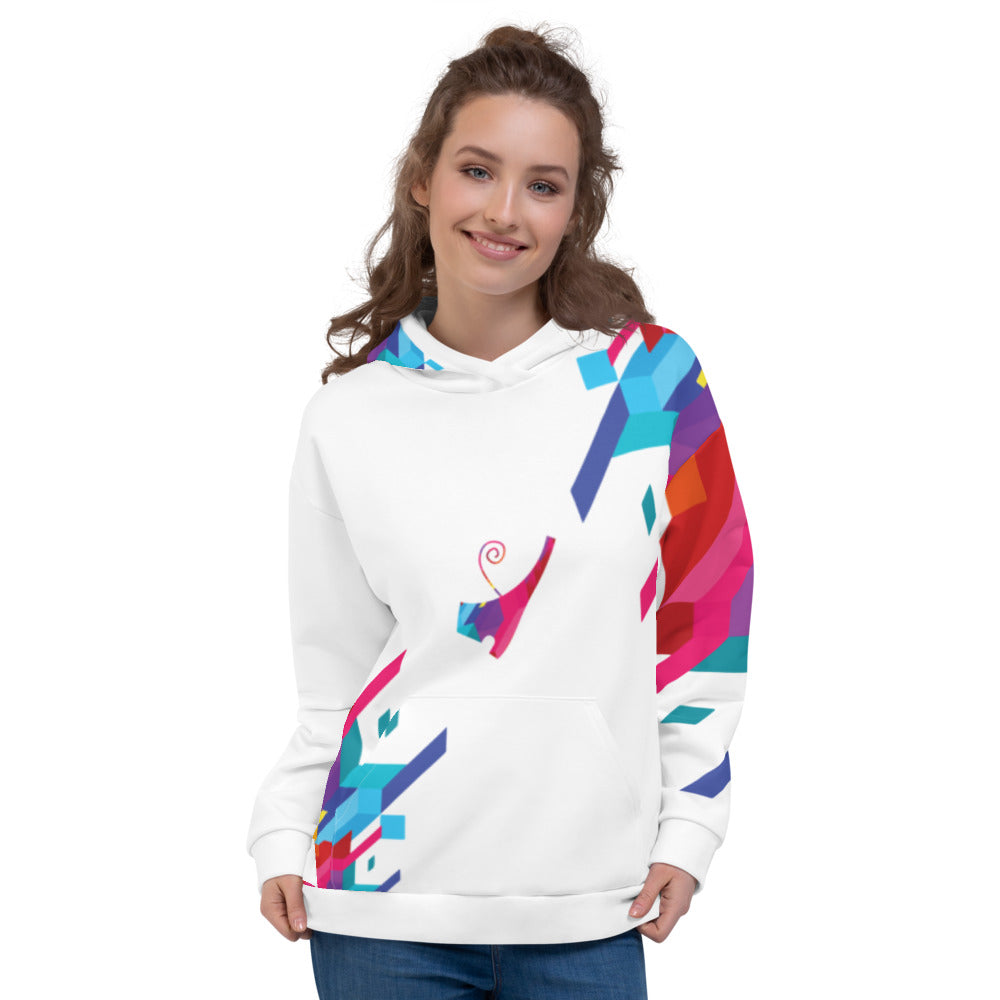Negash Queens Abstract Deshret Hoodie