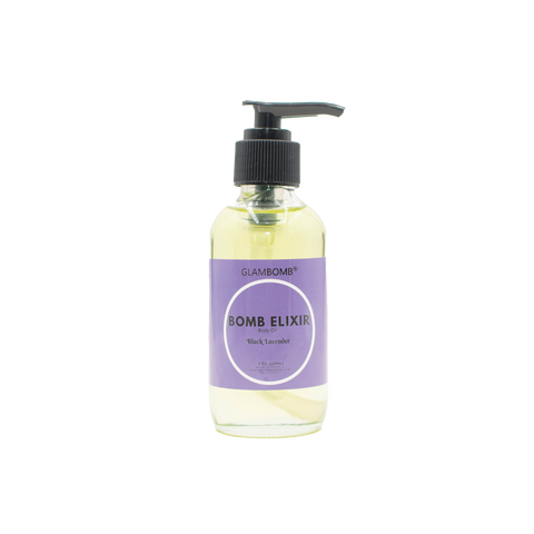 Bomb Elixir Body Oil - Black Lavender - Try It