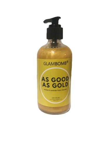 As Good As Gold Honey and Lavender Face CLeanser