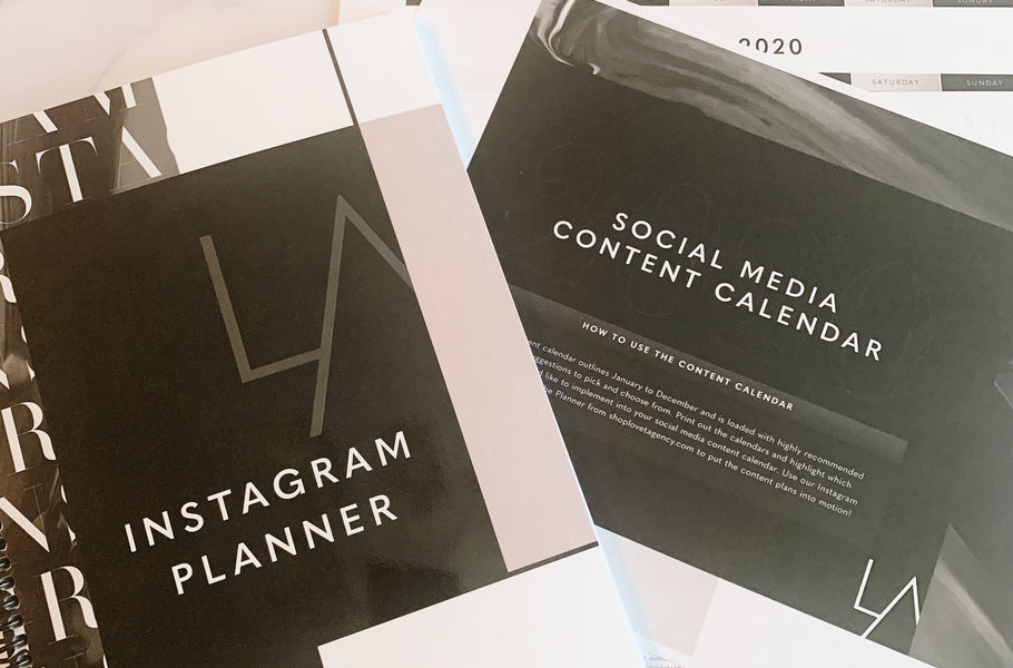 The Perfect Match: Instagram Planner & Content Calendar 2020 Download