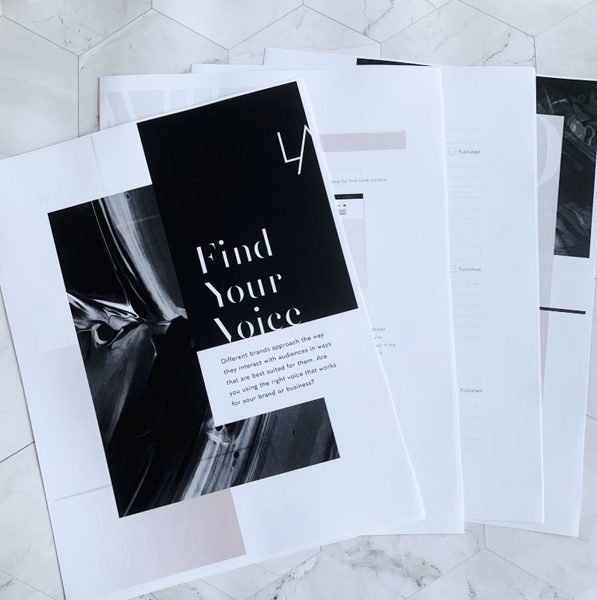 How to Use the Find Your Voice Digital Download