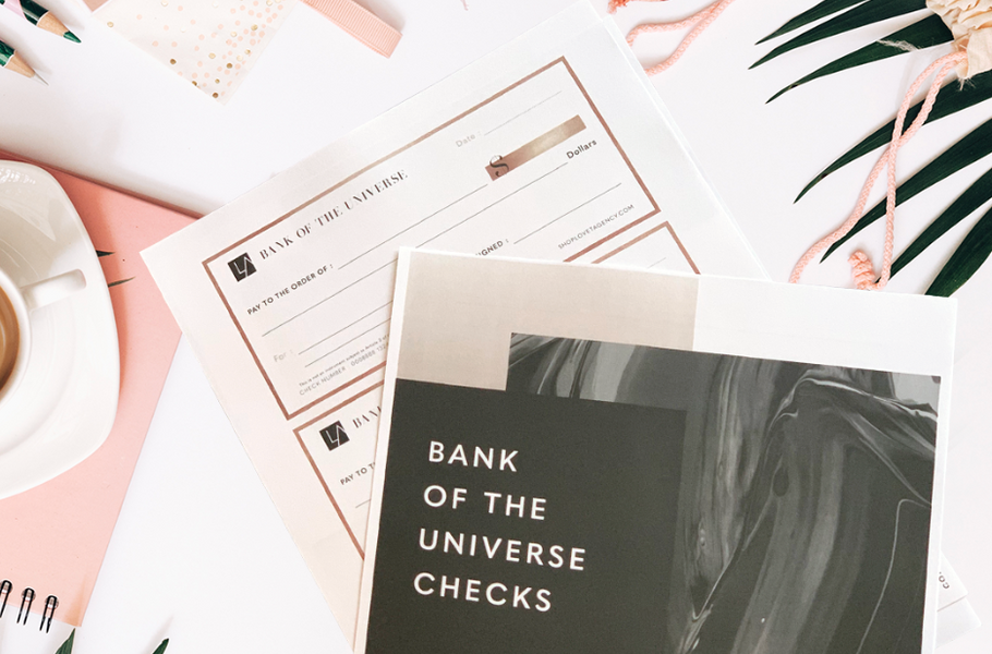 How to Use the Bank of the Universe Checks