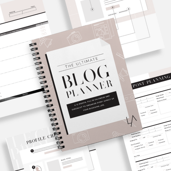 Tips For Using the Blog Planner as a Small Business