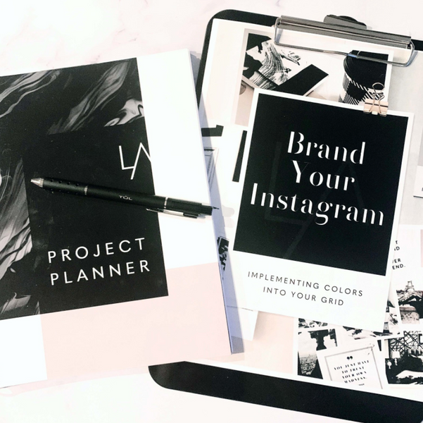 Branding Your Instagram on a Timeline Using the Project Planner