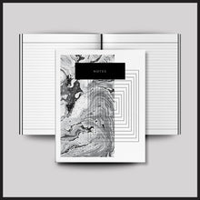 Load image into Gallery viewer, Geometric Chic NOTES Notebook